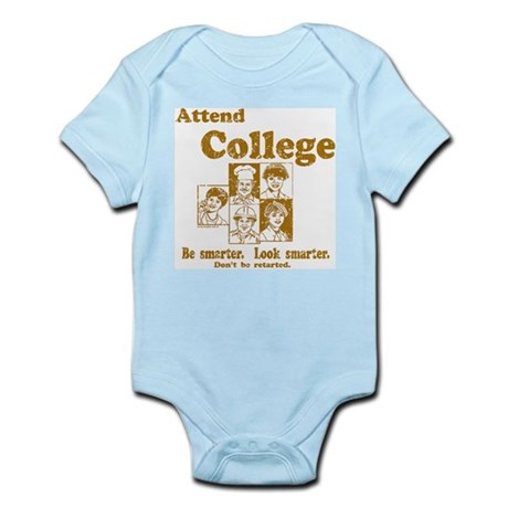 Attend College Infant Bodysuit