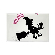 Witchy Woman Rectangle Magnet