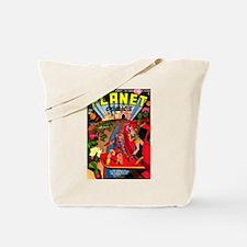 Alien Invaders Tote Bag