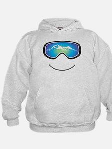 Cool Skiing Hoodie