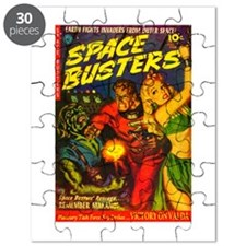 Retro Space Adventure Puzzle