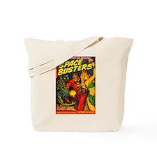 Retro Space Adventure Tote Bag