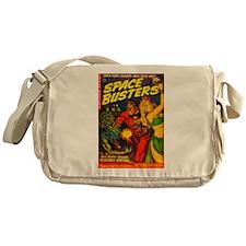 Retro Space Adventure Messenger Bag