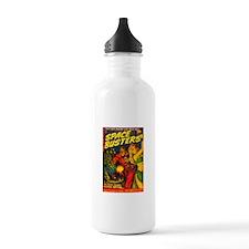 Retro Space Adventure Water Bottle