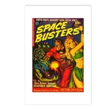 Retro Space Adventure Postcards (Package of 8)