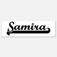 Black jersey: Samira Bumper Bumper Bumper Sticker