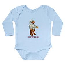Sleepy Time Bear Long Sleeve Infant Bodysuit