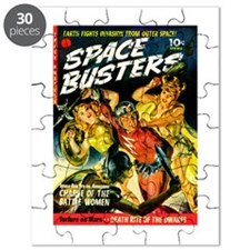 Space Warrior Women Puzzle