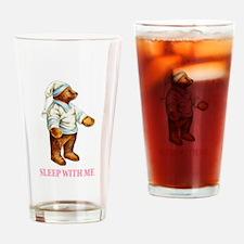 Sleepy Time Bear Drinking Glass