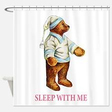 Sleepy Time Bear Shower Curtain