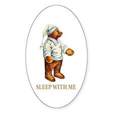 Sleepy Time Bear Decal