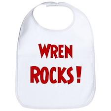 Wren Rocks Bib