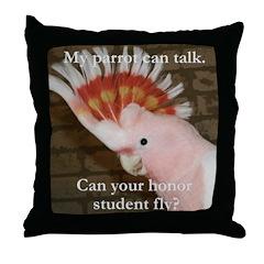 Major Mitchells Cockatoo 2 Pam Throw Pillow