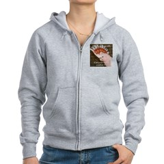 Major Mitchells Cockatoo 2 Pam Zip Hoodie