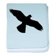 Hawk baby blanket