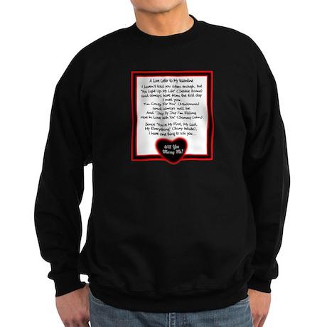 A Love Letter/t-shirt Sweatshirt (dark)