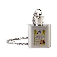 DISCLAIMER Flask Necklace