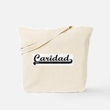 Black jersey: Caridad Tote Bag