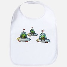 THREE ALIENS Bib