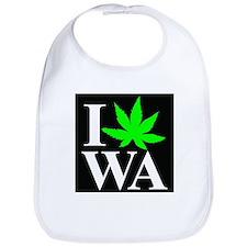 I Love WA Bib
