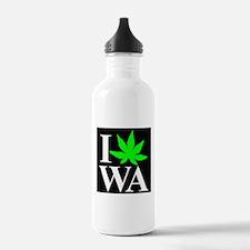 I Love WA Sports Water Bottle