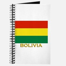 Bolivia Flag Gear Journal