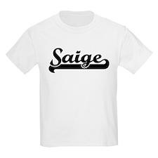 Black jersey: Saige Kids T-Shirt