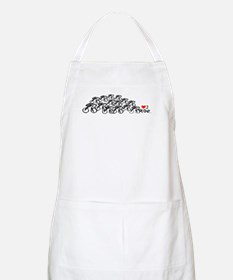 Cute Yellow jersey Apron
