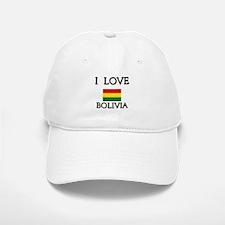 I Love Bolivia Baseball Baseball Cap
