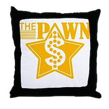 The PAWN Shop Star - YELLOW Throw Pillow