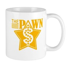 The PAWN Shop Star - YELLOW Small Mugs