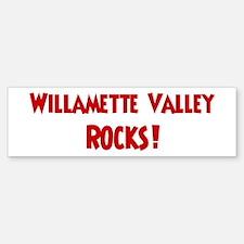 Willamette Valley Rocks Bumper Bumper Bumper Sticker