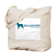 "Bullmastiff ""One Cool Dog"" Tote Bag"
