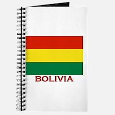 Bolivia Flag Merchandise Journal
