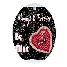 happy valentines day art illustration Ornament (Ov