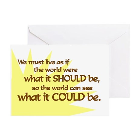How to Live Greeting Cards (Pk of 10)
