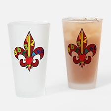 Fleur De Teacher Drinking Glass