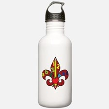 Fleur De Teacher Water Bottle