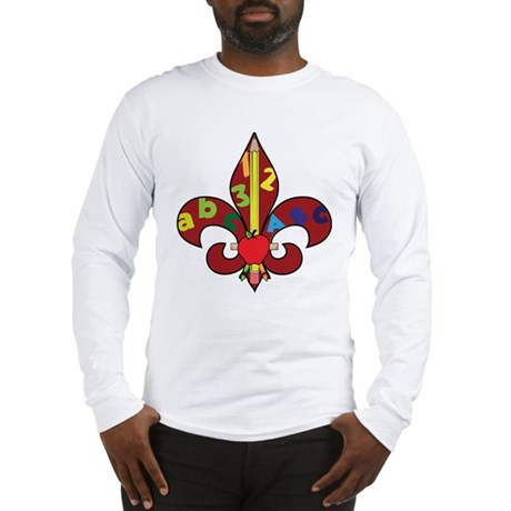 Fleur De Teacher Long Sleeve T-Shirt