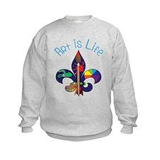 Art Is Life Sweatshirt