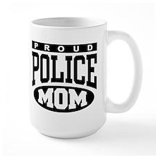 Proud Police Mom Mug