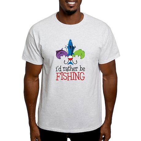 Rather Be Fishing Light T-Shirt
