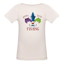 Peace Love Fishing Tee