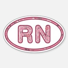 RN Pink Decal