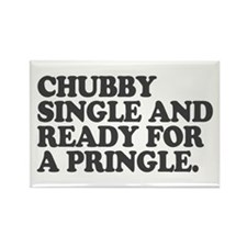 Chubby and single Rectangle Magnet