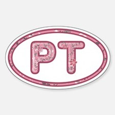 PT Pink Sticker (Oval)