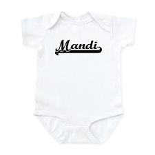 Black jersey: Mandi Infant Bodysuit