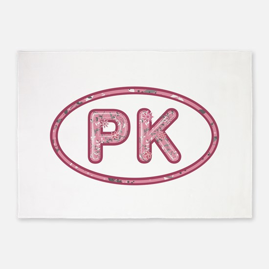 PK Pink 5'x7'Area Rug