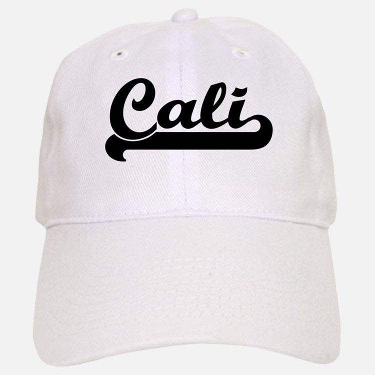 Black jersey: Cali Baseball Baseball Cap