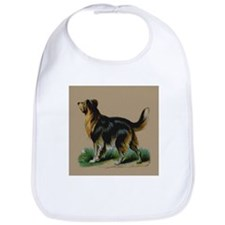 Scottish Collie Raphael Tucks Bib